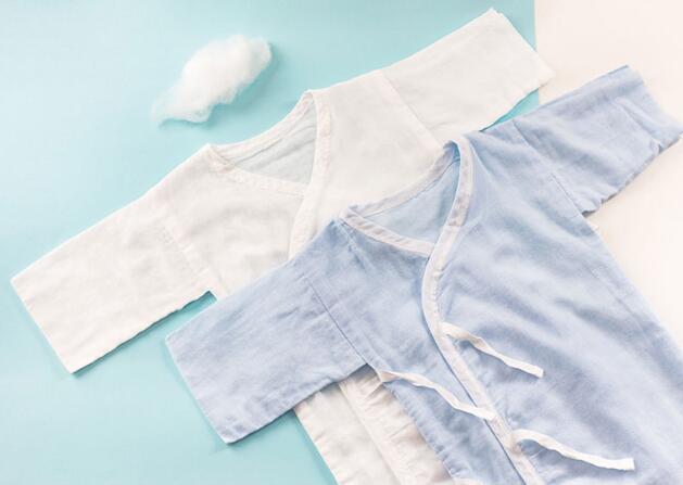 1日0點、618預告: PurCotton 全棉時代 嬰兒純棉紗布和尚服 2件 49元