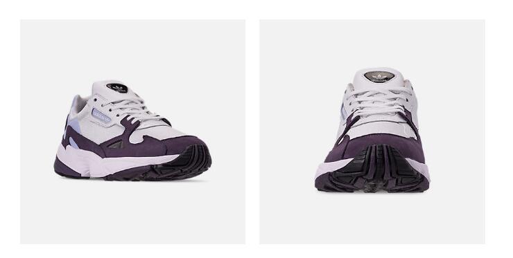 adidas Originals Falcon女款老爹鞋湊單折後價$21.67!!21折力度