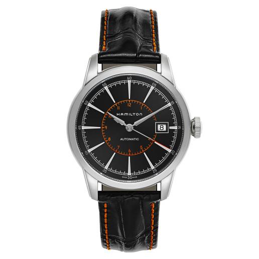 HAMILTON AMERICAN CLASSIC RAILROAD系列 H40555731 男士機械腕錶$399.99