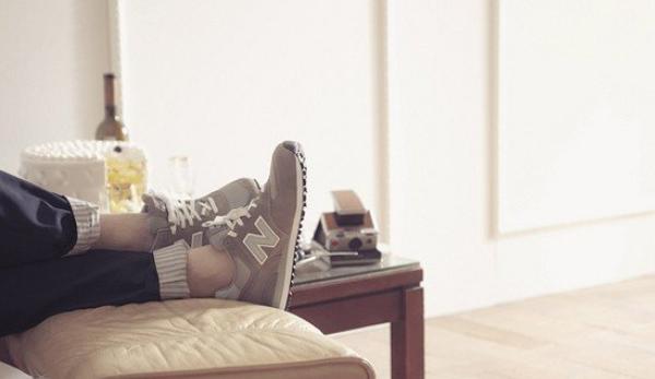 限5碼!New Balance574 Core女款休閒運動鞋新低價$16.87