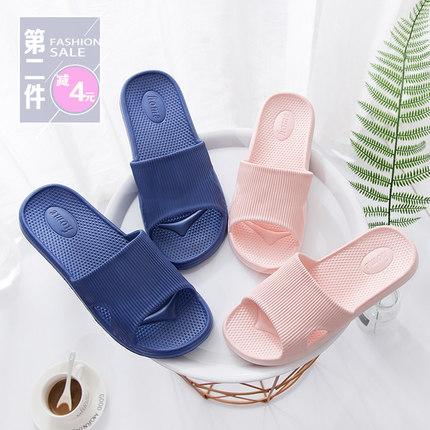 2019新款外穿拖鞋女夏室內防滑家居浴室居家用洗澡情侶涼拖鞋男士¥ 9.99