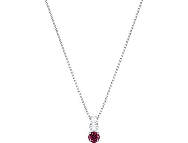 18秋冬新款 施華洛世奇 永恒的愛水晶項鏈prime會員到手約¥344.45