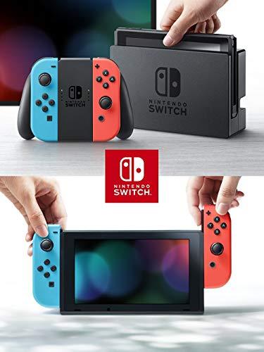 Nintendo Switch實體(任天堂Switch)【Joy-Con (L)霓虹燈/ (R)霓虹燈】任天堂Switch遊戲機