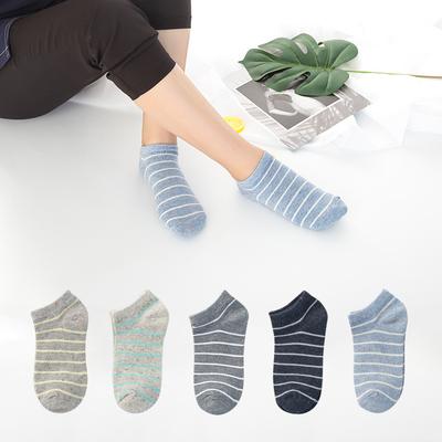 5雙春夏季男女低幫淺口船襪棉襪舒適透氣襪子男女情侶短襪子 券後價僅8.60元