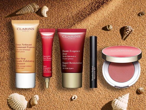 Clarins 美國官網 : 勞工節大促 精選護膚彩妝 低至7折 收套裝合適