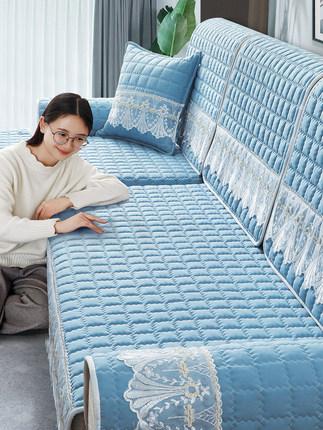 沙發墊四季通用防滑坐墊子全包萬能沙發套罩一套北歐簡約靠背墊巾  原價15.00元,券後價僅13.00元