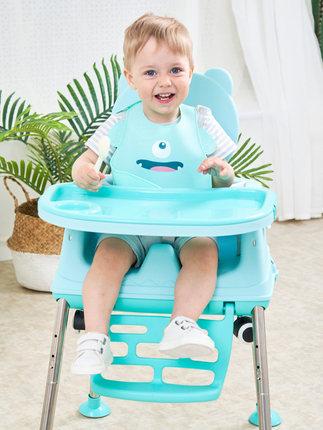 寶寶椅子兒童餐椅便攜折疊嬰兒家用吃飯桌多功能宜家學坐簡易座椅【在售價】109.00 元【券後價】39.00元