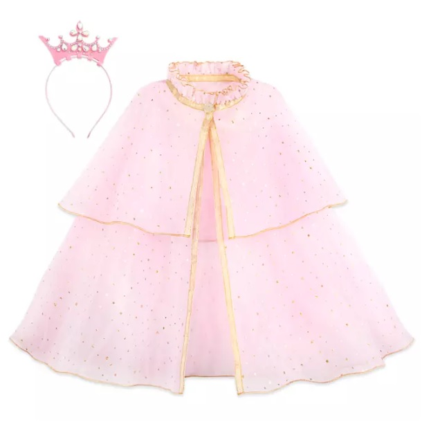 shopDisney公主鬥篷皇冠發帶套裝,額外7.5折,現特價$22.49