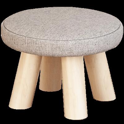 小凳子實木家用小椅子時尚換鞋凳圓凳【在售價】10.90 元