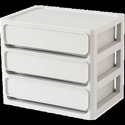 簡約桌面化妝品口紅收納盒抽屜式大容量【在售價】9.90 元