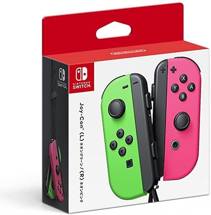 Nintendo任天堂 Switch Joy-Con 無線遊戲手柄 (粉綠)1對降至7800日元+78積分