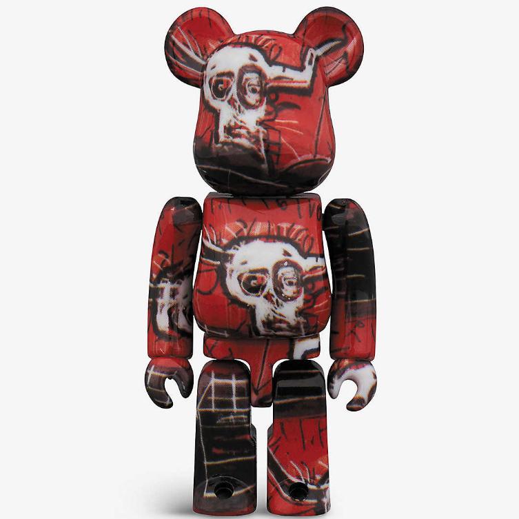 暴力熊BE@RBRICK Basquiat #5 100% and 400% 2個裝套組HKD$1380