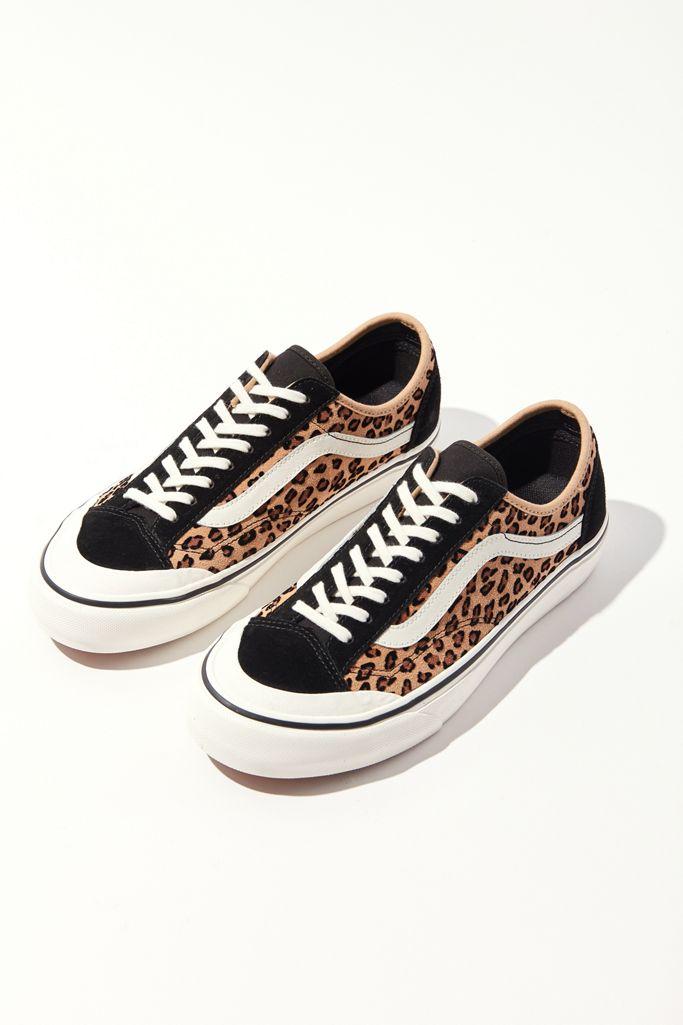 Vans萬斯 Style 36 Decon SF豹紋女款低幫鞋5折$33.5