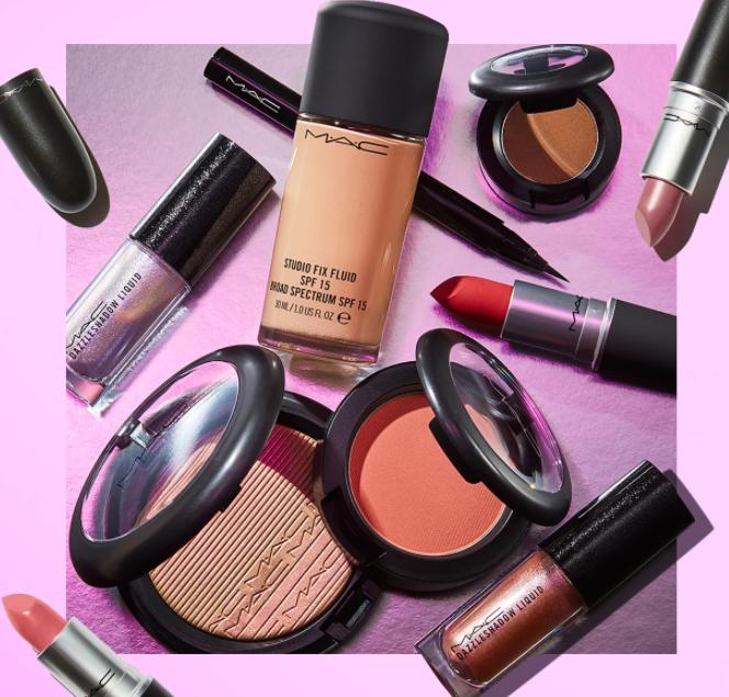 MAC Cosmetics 現有 全場美妝護膚7.5折 55專享 滿額自選2支正裝熱門口紅。