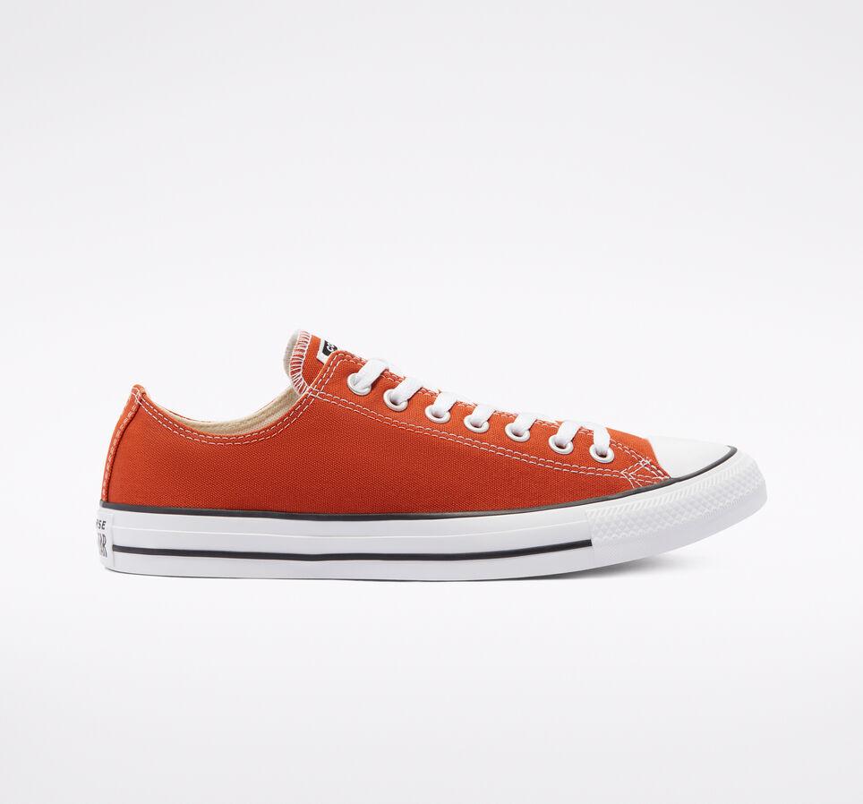 Converse All Star中性款帆布鞋 臟橘色折後$23.09