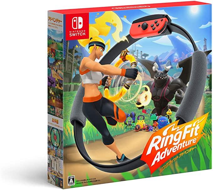 任天堂Switch遊戲 NS 健身環大冒險 Ring fit Adventure售價8778日元+88積分