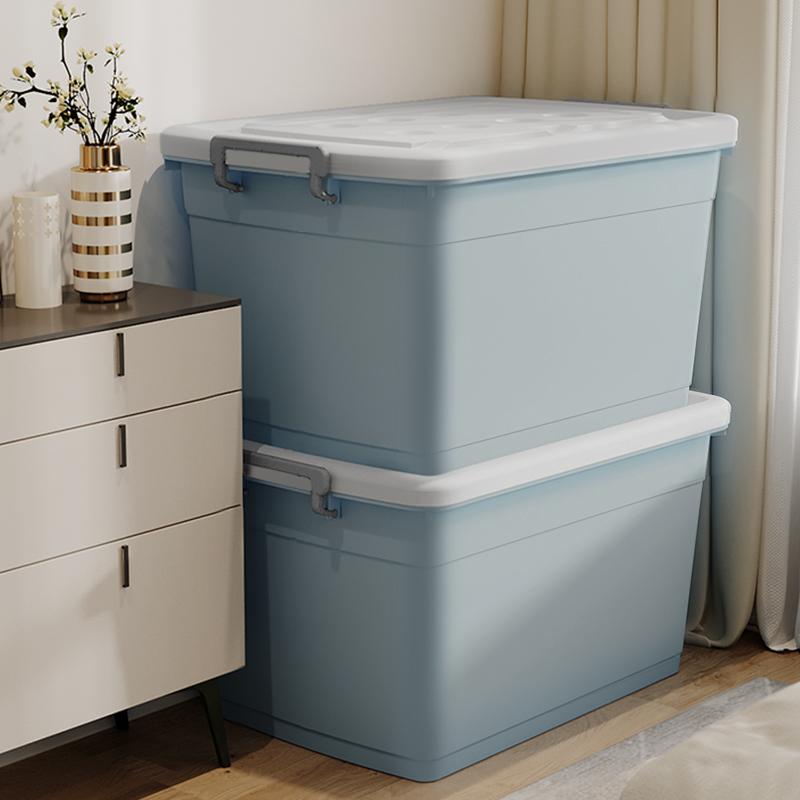佳幫手加厚特大號收納箱塑膠衣服儲物盒宿舍大號家用盒子整理箱子