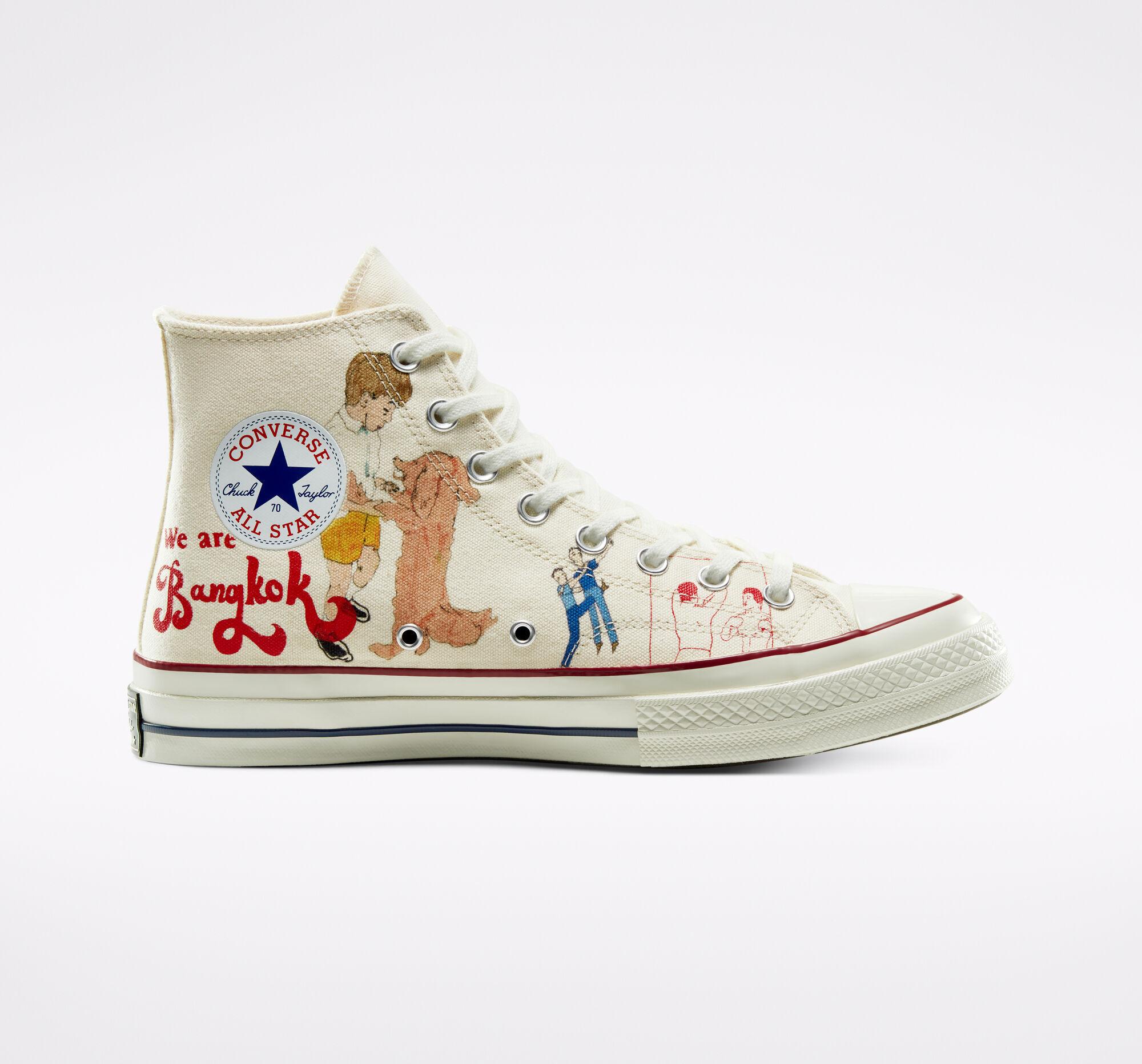 Converse 匡威英國官網:年中大促 低至6折起 ¥434收明星同款帆布鞋!