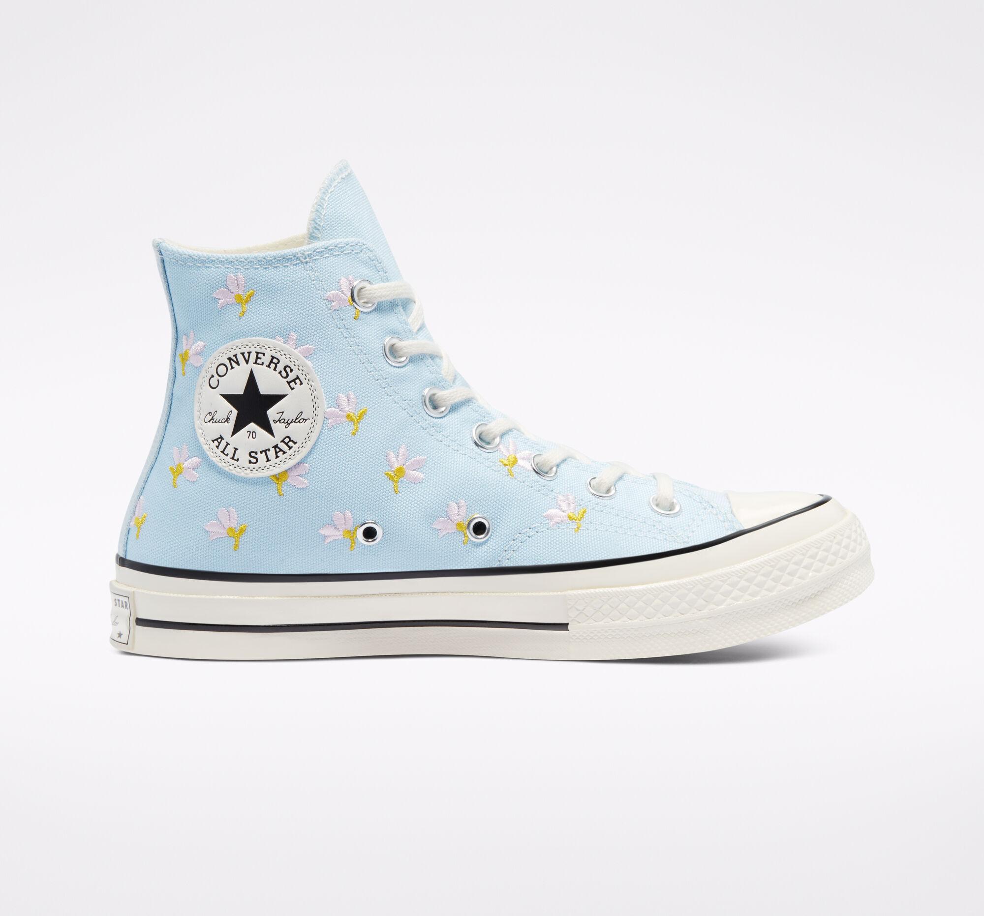 Converse:夏季大促開啟 新款5折起 ¥336收撞色高幫帆布鞋