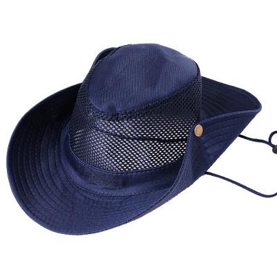 遮陽帽夏季戶外騎行防曬帽子登山釣魚帽迷彩漁夫帽旅遊防曬太陽帽【在售價】12.00 元